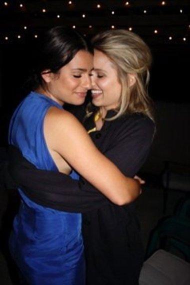Dianna Agron Y Lea Michele 111, Hay una lesbiana en mi sopa