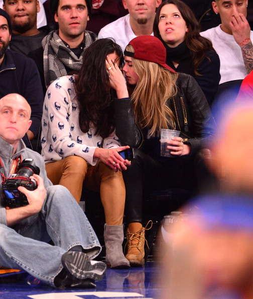 Cara Delevingne Michelle Rodriguez Kiss Beso3, Hay una lesbiana en mi sopa