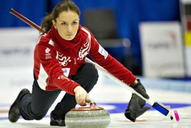 Anna Sidorova Curling Rusia, Hay una lesbiana en mi sopa