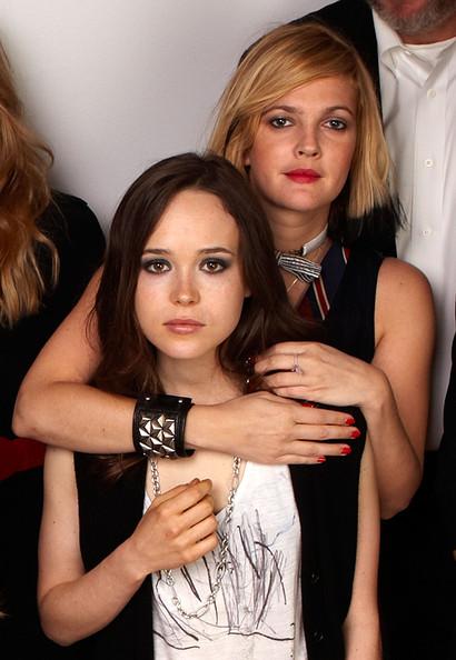 Drew Barrymore Ellen Page