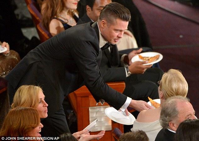 Brad Pitt Pizza Meryl