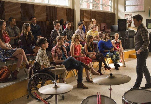 Glee class 100