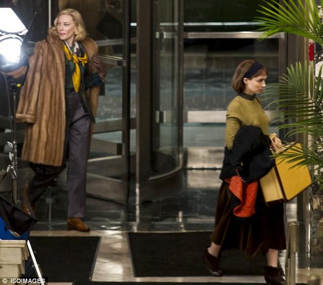 Cate Blanchett Carol Roney 2, Hay una lesbiana en mi sopa