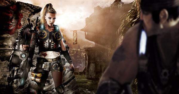 Anna Simon Gears Of War 3 2, Hay una lesbiana en mi sopa
