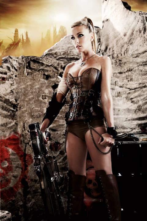 Anna Simon Gears Of War 3 6, Hay una lesbiana en mi sopa