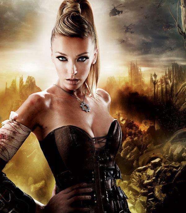 Anna Simon Gears Of War 3 8, Hay una lesbiana en mi sopa