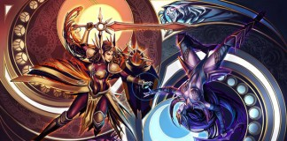 League of Legends Leona Diana