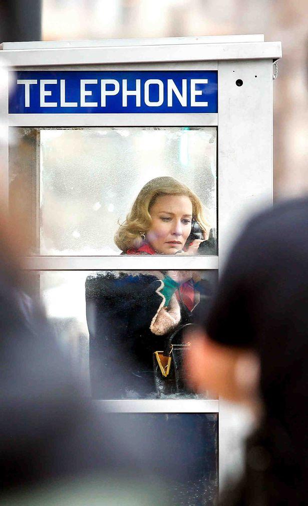 Rodaje De Carol Cate Blanchett Sarah Paulson Rooney Mara 18 Nick Daggy, Hay una lesbiana en mi sopa