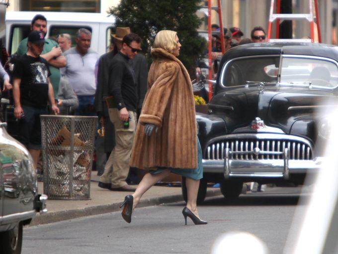 Rodaje De Carol Cate Blanchett Sarah Paulson Rooney Mara 20, Hay una lesbiana en mi sopa