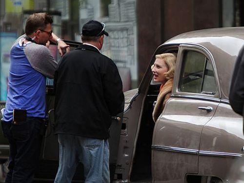 Rodaje De Carol Cate Blanchett Sarah Paulson Rooney Mara 3, Hay una lesbiana en mi sopa
