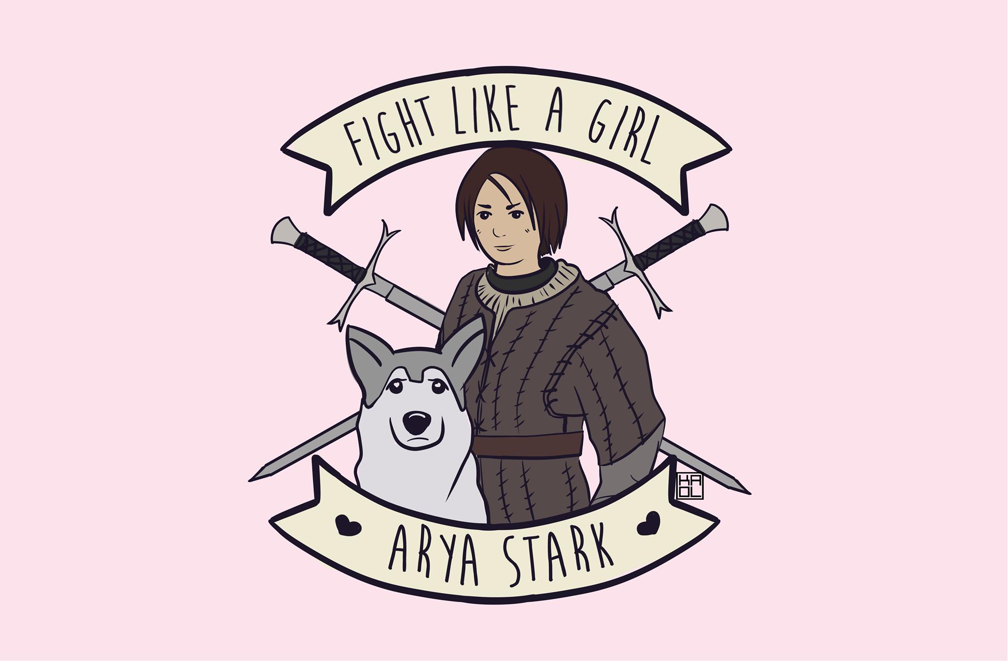 Fight Like A Girl Arya, Hay una lesbiana en mi sopa