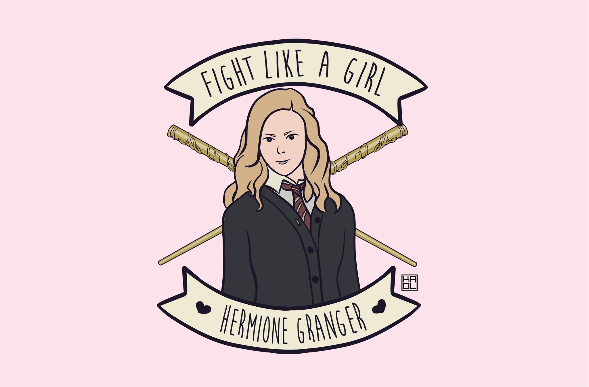 Fight Like A Girl Hermione, Hay una lesbiana en mi sopa