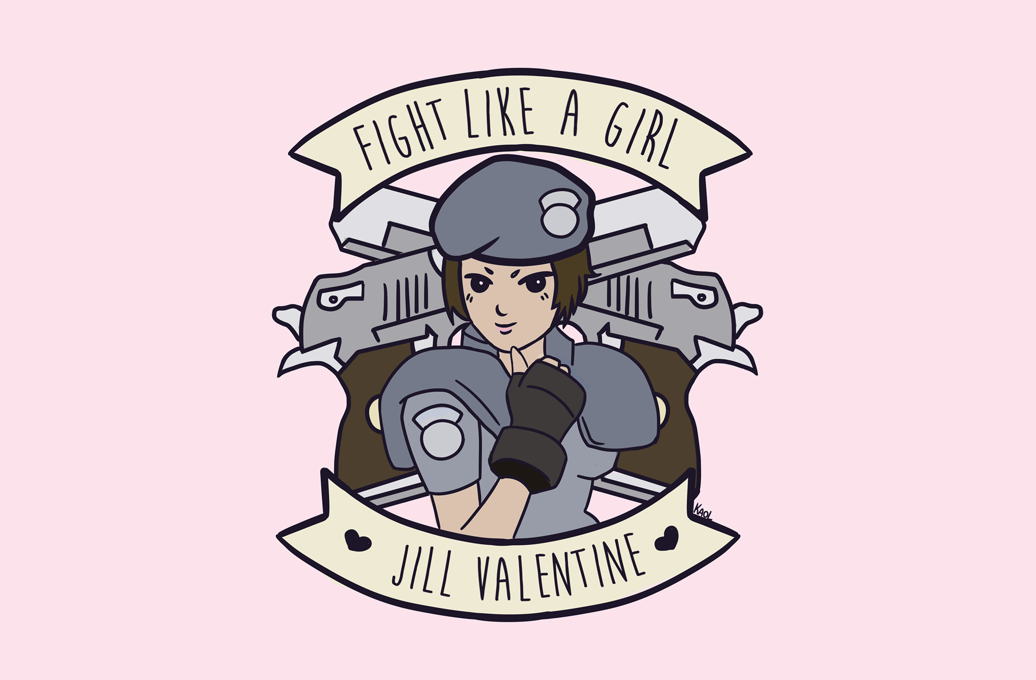 Fight Like A Girl Jill, Hay una lesbiana en mi sopa