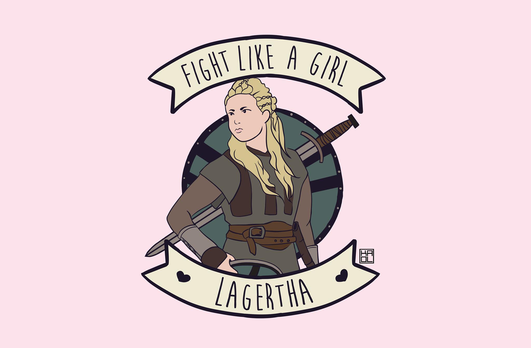 Fight Like A Girl Lagertha, Hay una lesbiana en mi sopa