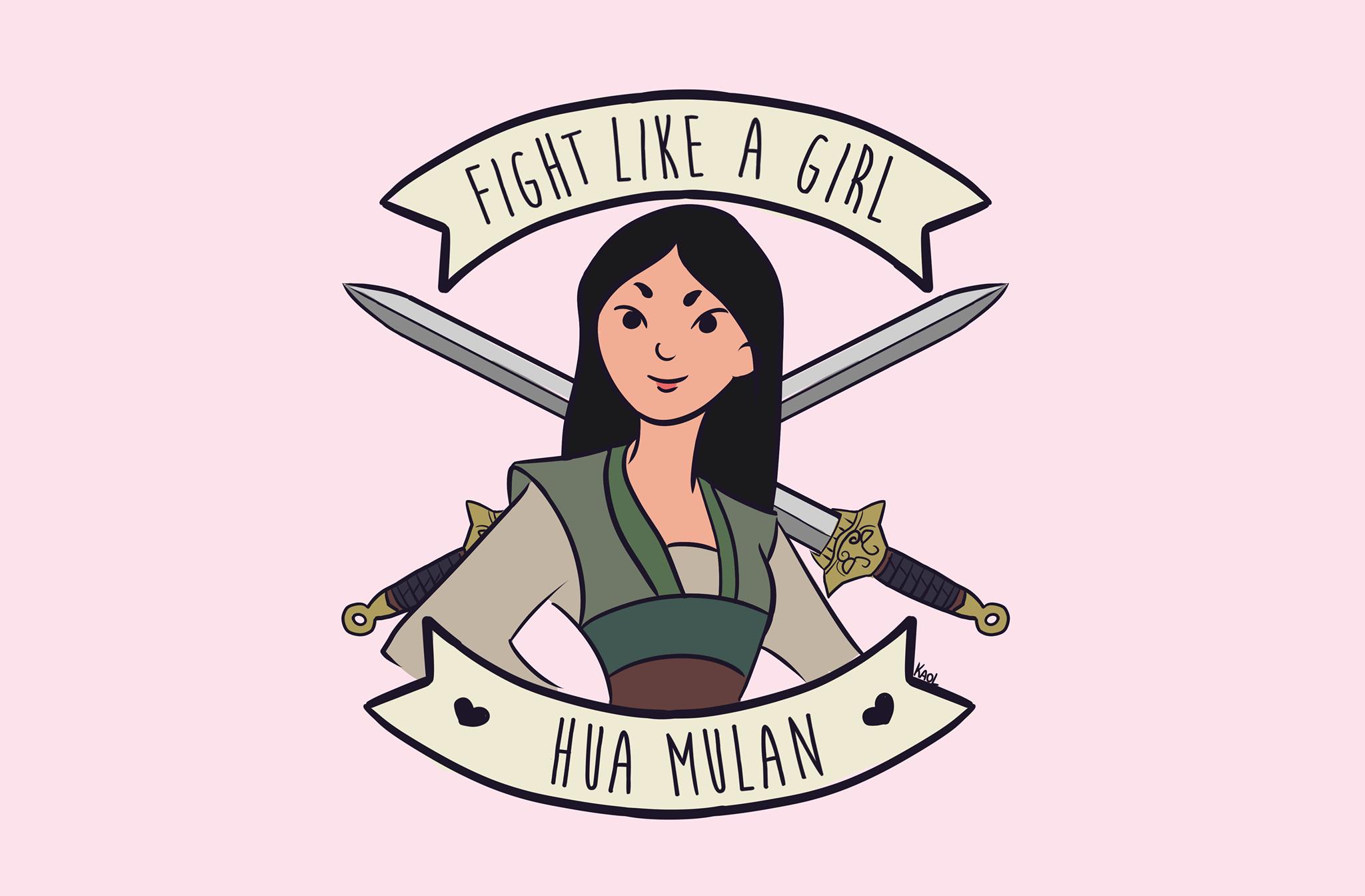 Fight Like A Girl Mulan, Hay una lesbiana en mi sopa