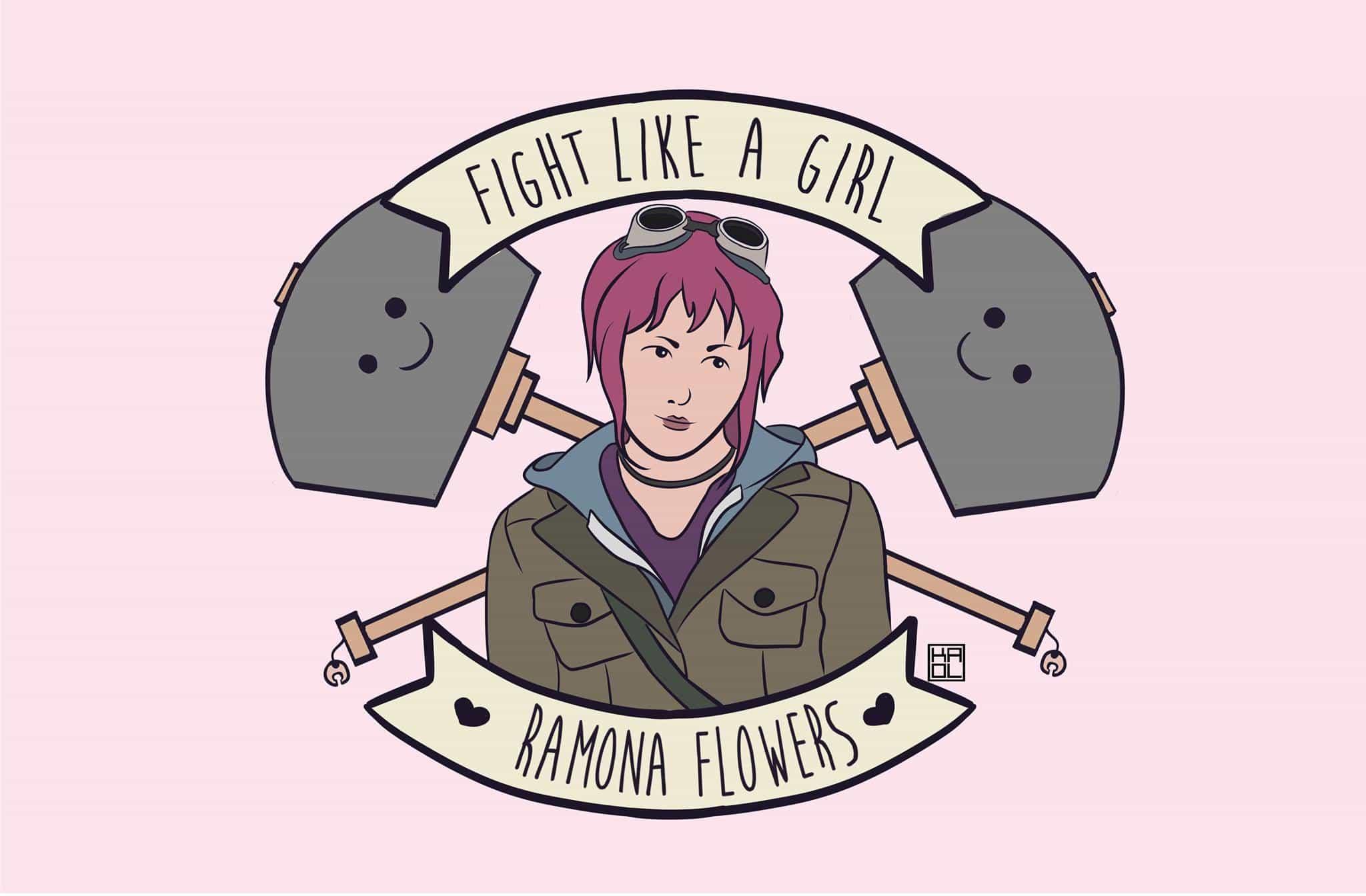 Fight Like A Girl Ramona, Hay una lesbiana en mi sopa