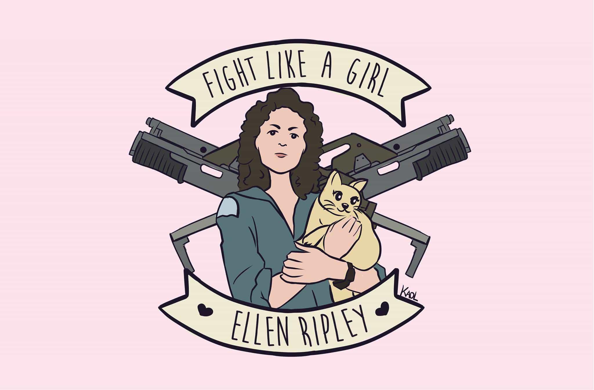 Fight Like A Girl Ripley, Hay una lesbiana en mi sopa