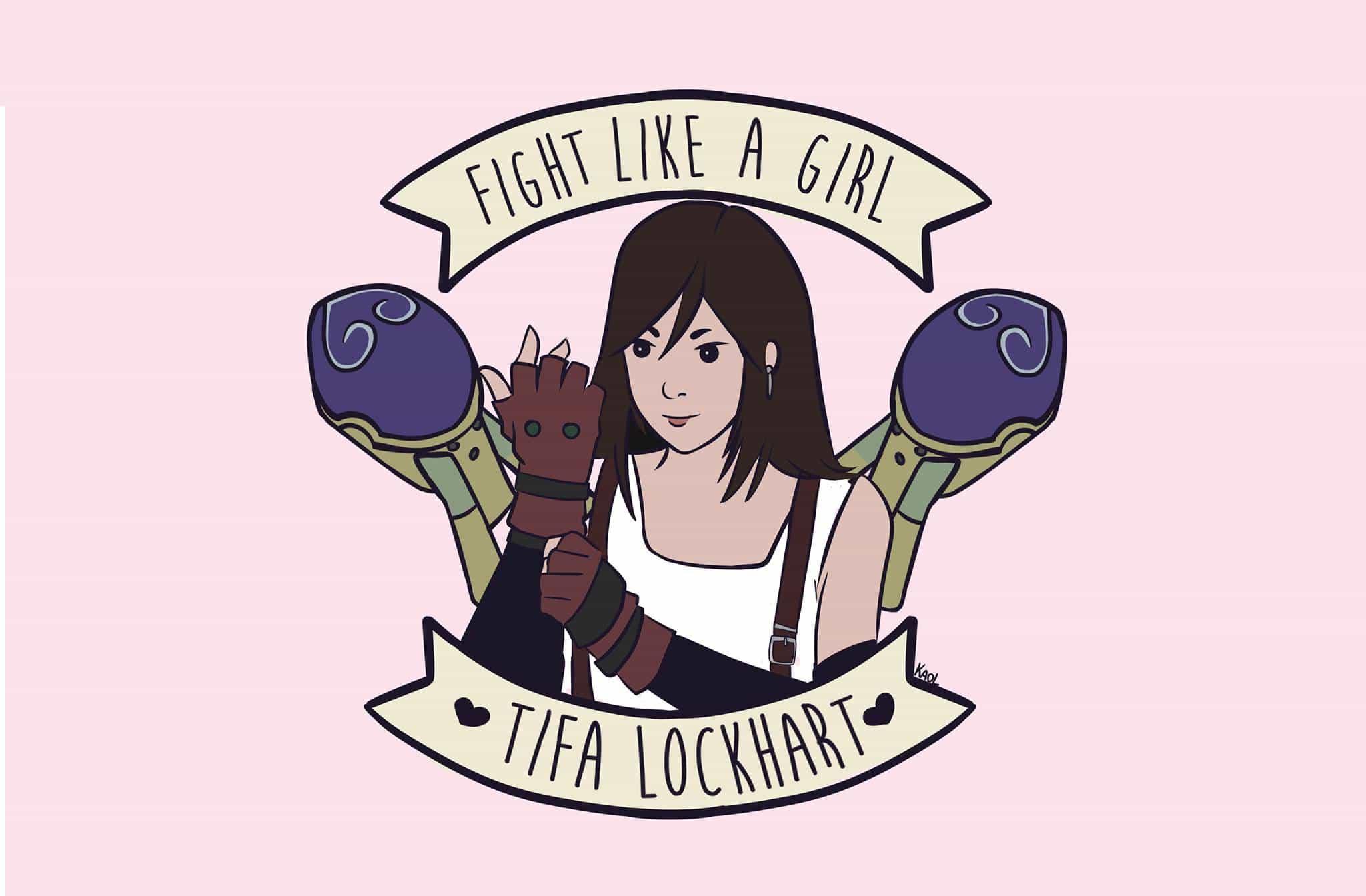 Fight Like A Girl Tifa, Hay una lesbiana en mi sopa