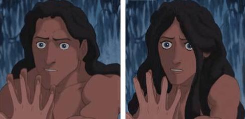 Tarzan, Hay una lesbiana en mi sopa