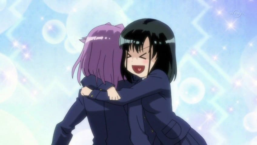Saki Momoko X Yumi, Hay una lesbiana en mi sopa