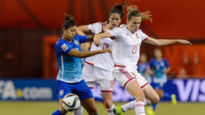 españa brasil mundial femenino 2015