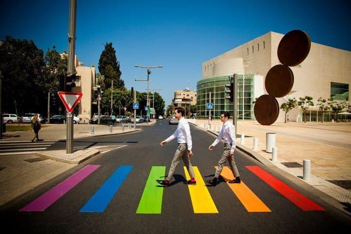 Tel Aviv Paso De Cebra Arcoiris, Hay una lesbiana en mi sopa