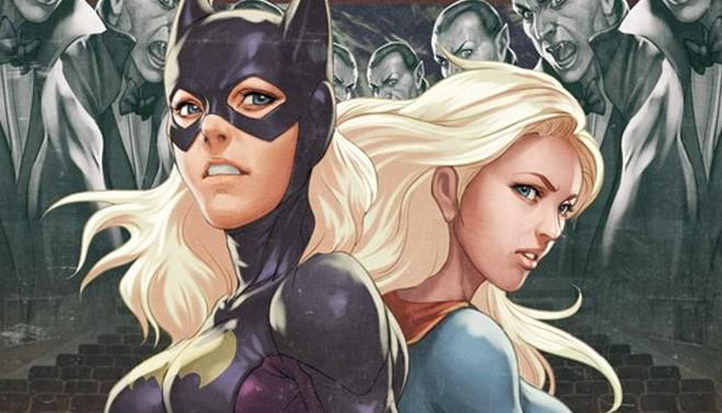 Batgirl & Supergirl