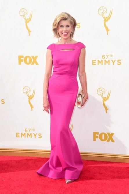 Christine Baranski - La increíble alfombra roja de los Emmys 2015