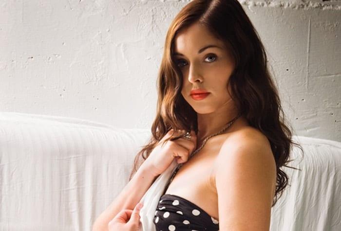 Natalie Krill será la partenaire de Linder