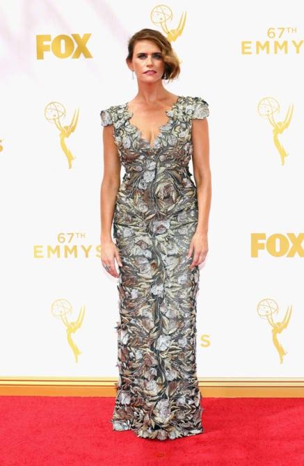 amy landecker - La increíble alfombra roja de los Emmys 2015