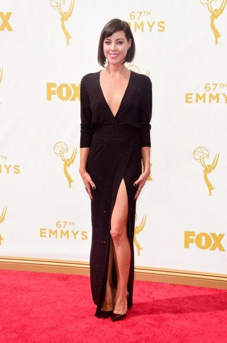 aubrey plaza - La increíble alfombra roja de los Emmys 2015