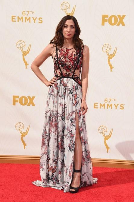 chelsea peretti - La increíble alfombra roja de los Emmys 2015