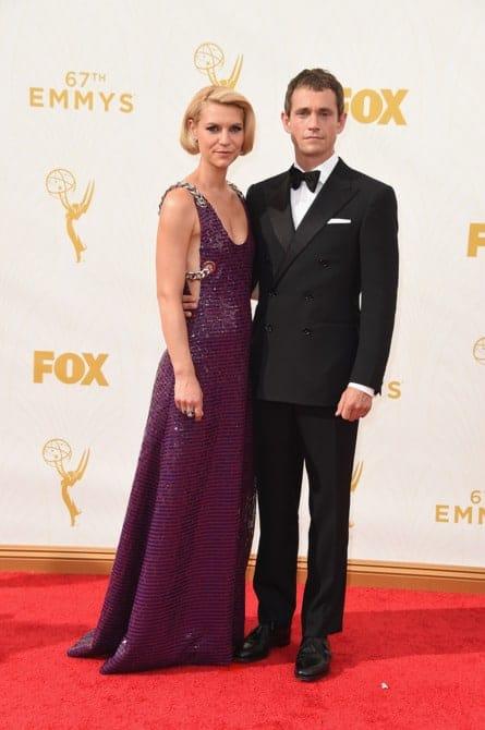 claire danes - La increíble alfombra roja de los Emmys 2015