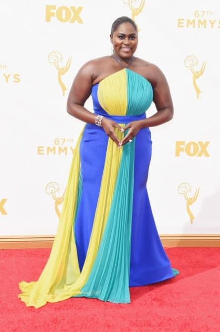 danielle brooks - La increíble alfombra roja de los Emmys 2015