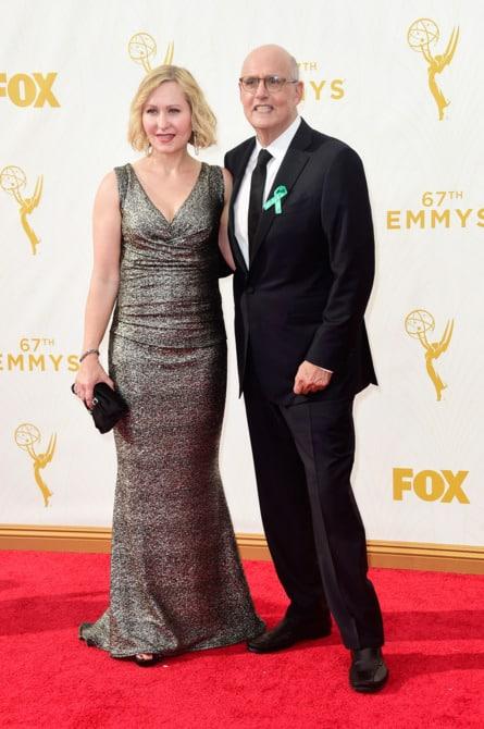 jeffrey tambor - La increíble alfombra roja de los Emmys 2015