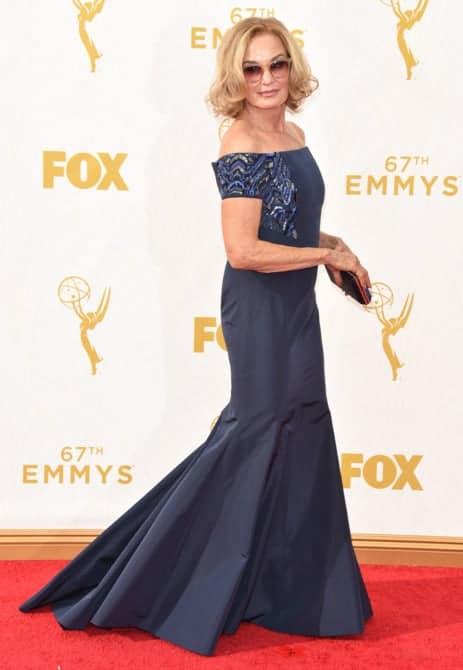 jessica lange - La increíble alfombra roja de los Emmys 2015