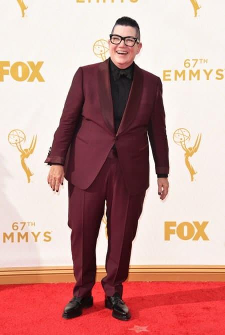 lea delaria - La increíble alfombra roja de los Emmys 2015