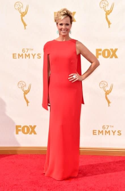 melora harding - La increíble alfombra roja de los Emmys 2015