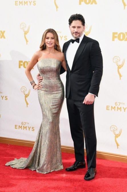sofia vergara - La increíble alfombra roja de los Emmys 2015