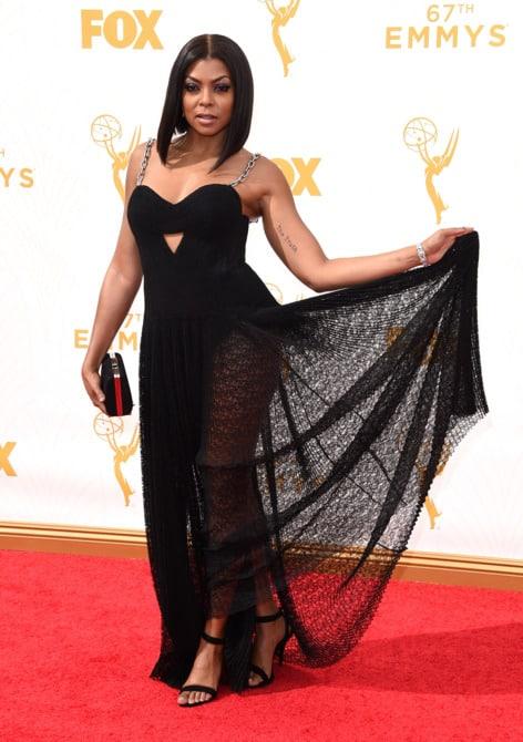 taraji p henson - La increíble alfombra roja de los Emmys 2015