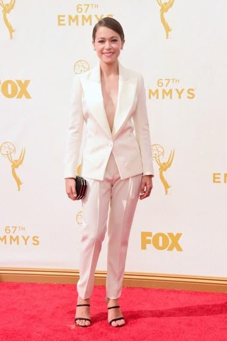 tatiana maslany - La increíble alfombra roja de los Emmys 2015