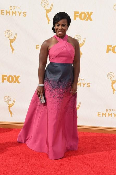 uzo aduba - La increíble alfombra roja de los Emmys 2015