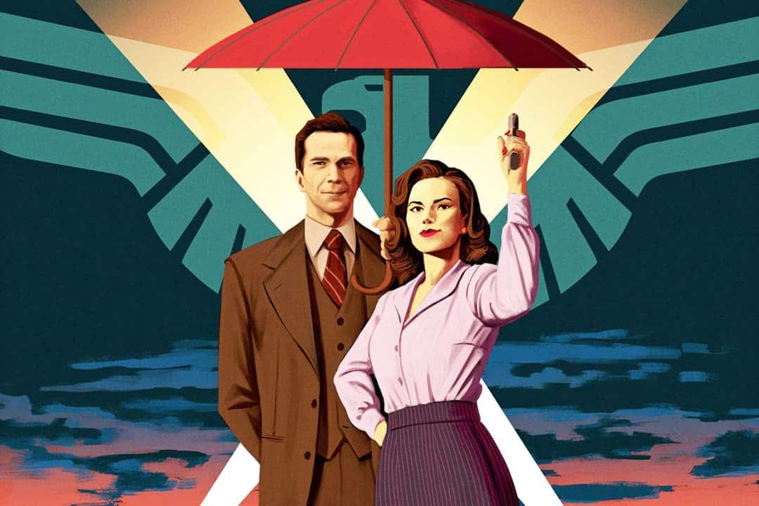 Agent Carter Poster Temporada2, Hay una lesbiana en mi sopa