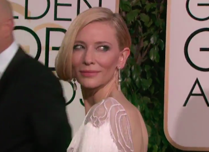 Cate Blanchett Globos de Oro 2916 2 - Los Globos de Oro 2016, minuto a minuto