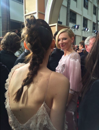 Cate Blanchett y Rooney Mara Globos de Oro 2016 - Los Globos de Oro 2016, minuto a minuto