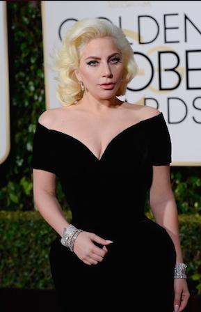 Lady Gaga Globos de Oro 2016 - Los Globos de Oro 2016, minuto a minuto