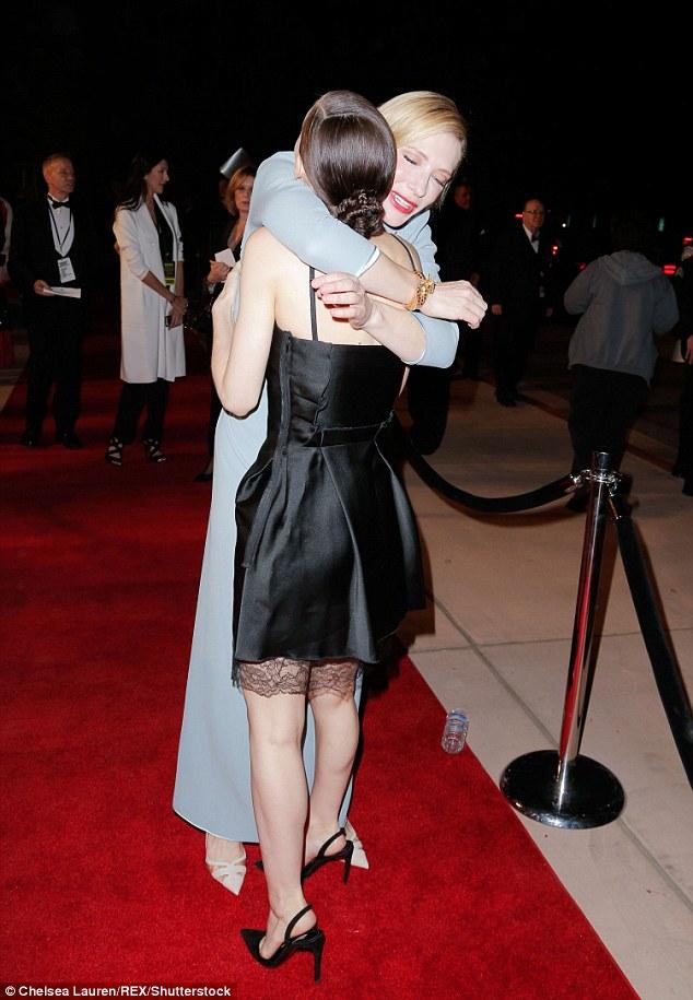 Cate Blanchett Palm Springs Rooney Mara 2, Hay una lesbiana en mi sopa