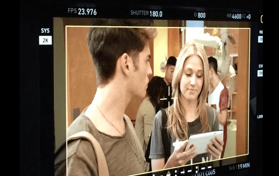 faking it temporada 3 2 - Primeras fotos del rodaje de la tercera temporada de 'Faking it'