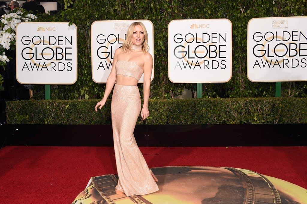 kate hudson golden globes - La alfombra roja de los Globos de Oro