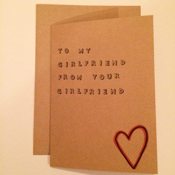 from-girlfriend-to-girlfriend Postales croquetas para enviar a tu doncella por San Valentín